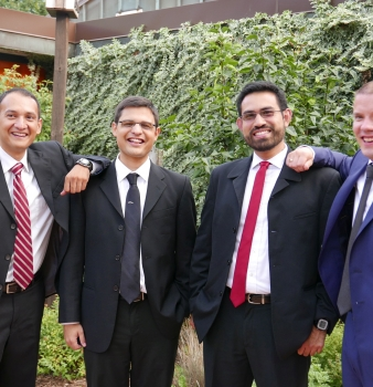 Four Brothers Make Lifelong Commitments to the Servants of the Word