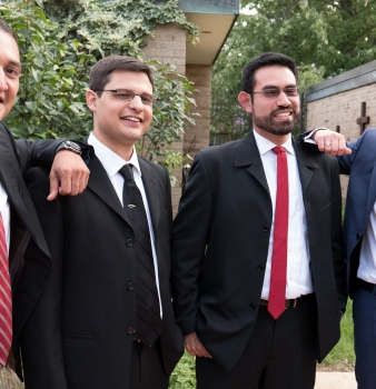 Four Brothers Make Lifelong Commitments
