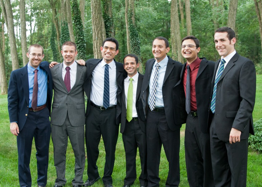 (left to right) Joseph Mathias, Tadhg Lynch, Rodrigo Sett, Luis Arce, Malaquias Garcia, Miguel Vargas, and Noel Delgadillo.